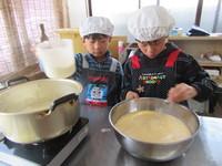 ぷりん作り体験2